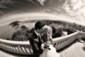 Fotografía de boda en el monte Igeldo (Donostia)