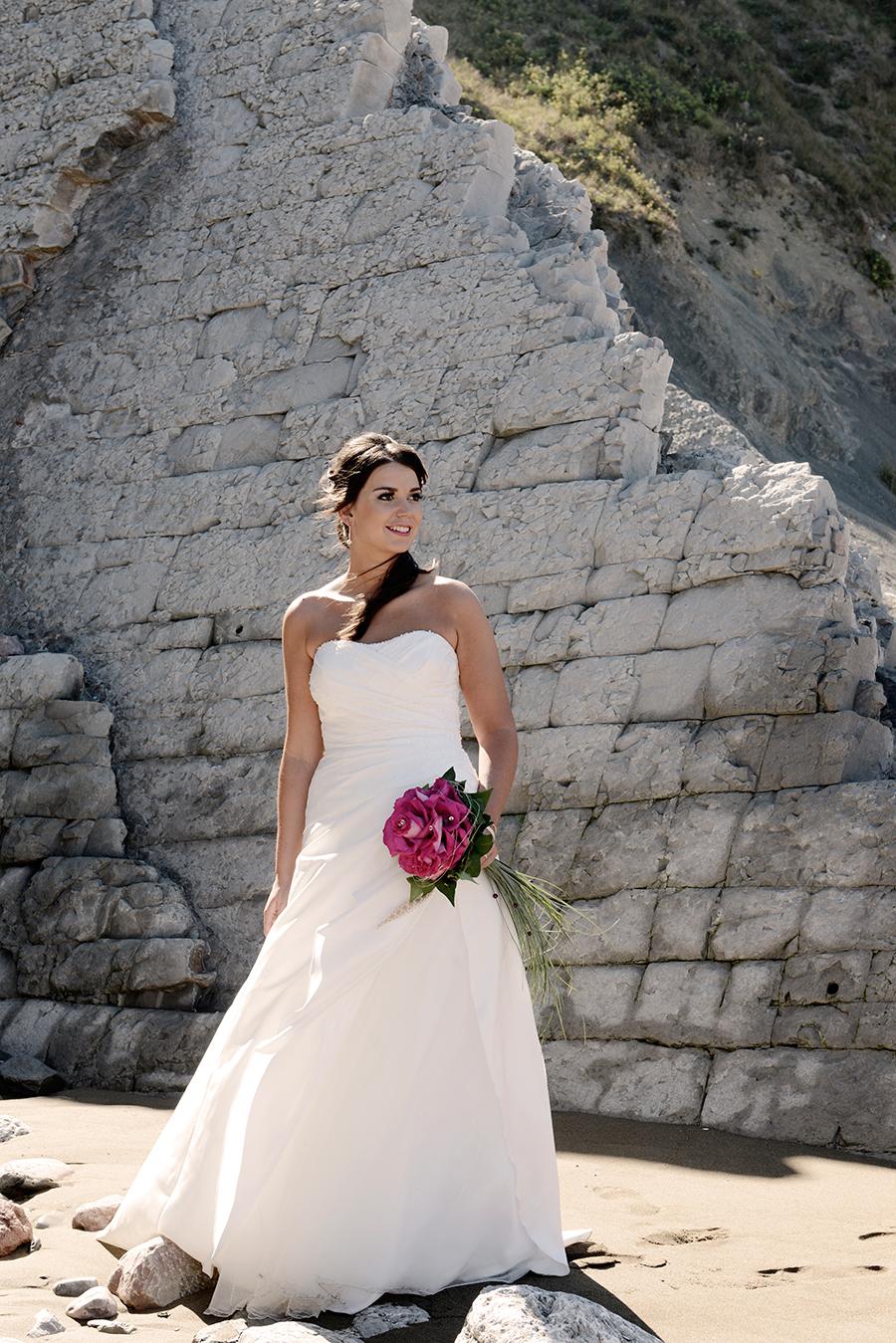 Fotografía de boda en Zumaia (Gipuzkoa)