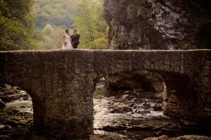 Fotografía de boda en Leitzaran (Andoain)