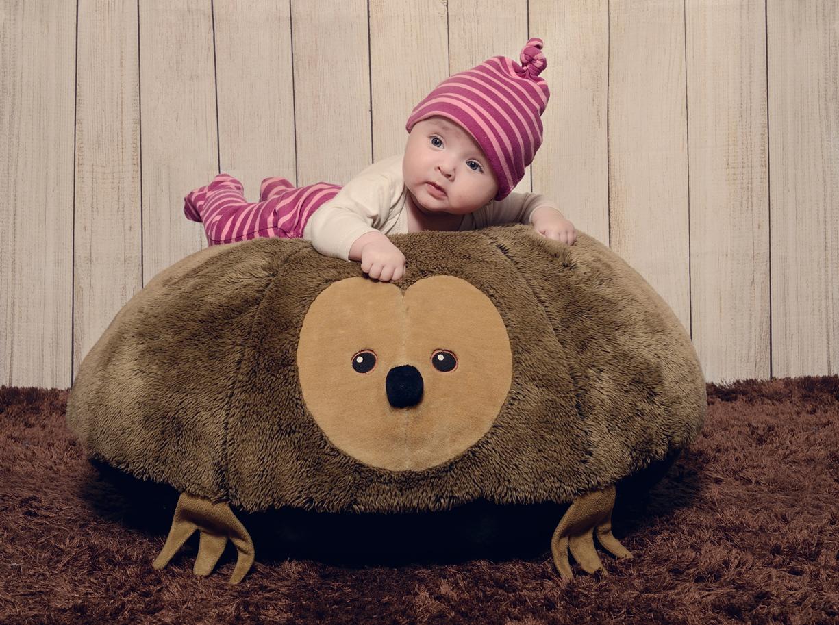Fotografía de estudio bebe (Errenteria)