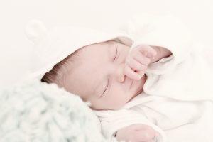 Fotografía bebé en el estudio