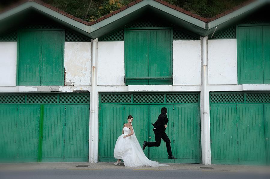 Reportaje de boda Hondarribi