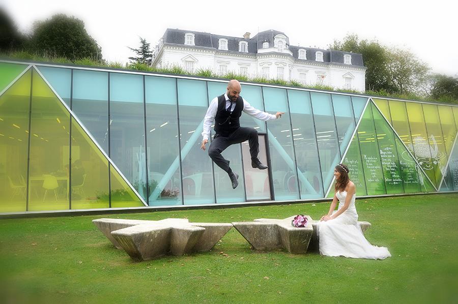 Fotografía de boda en Aiete