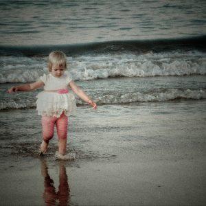 Reportaje en la playa