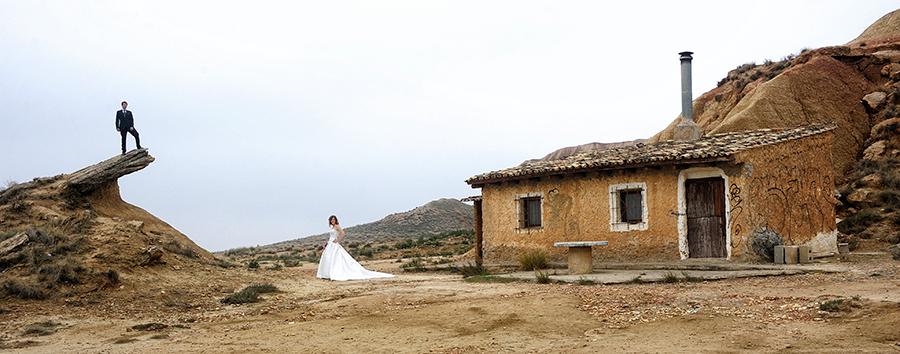 Reportaje de boda Bardenas
