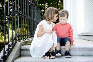 Fotografía niños en Aiete